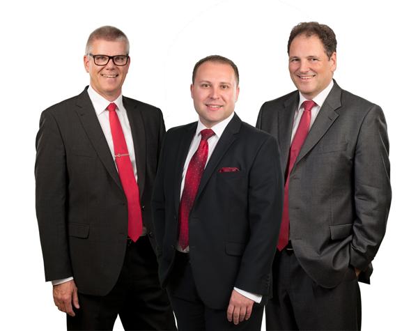 Geschäftsführung der ProFido Akademie - Stefan Potschka, Sefedin Alimpassi, Thomas Rogge